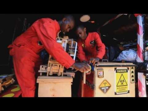 Two Kenyan inventors create Covid-19 decontamination device