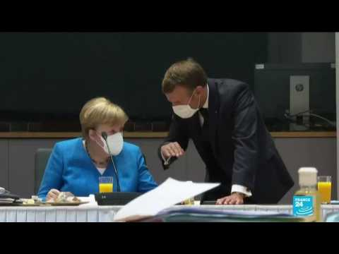 France's Macron, Germany's Merkel hold first post-Trump security meeting amid tensions with Russia