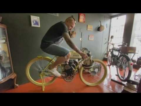 South African company builds motorized bicycles