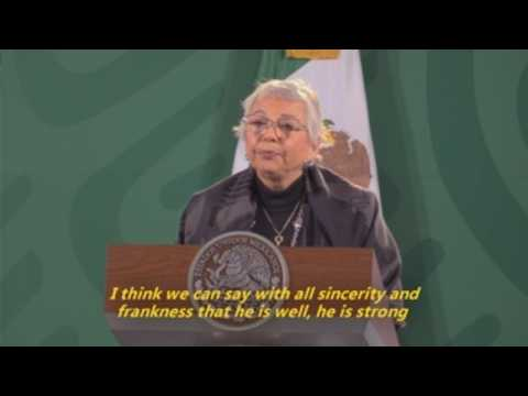 Mexico's president 'strong' despite Covid-19 positive, minister says