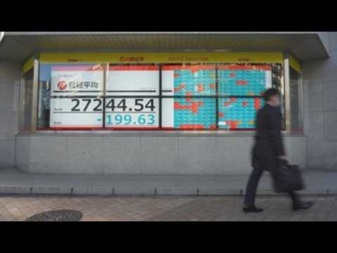 Japan stocks lower as gov't considers state of emergency for Tokyo area