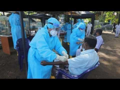 Covid-19 cases continue to rise in Sri Lanka