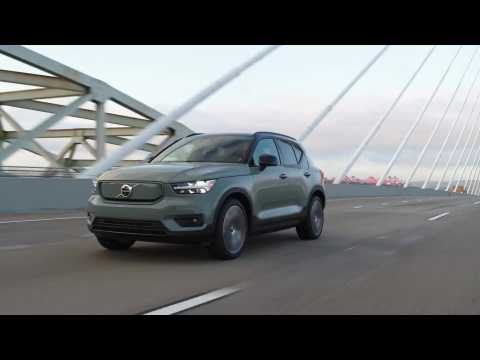 2021 Volvo XC40 Recharge Driving Video