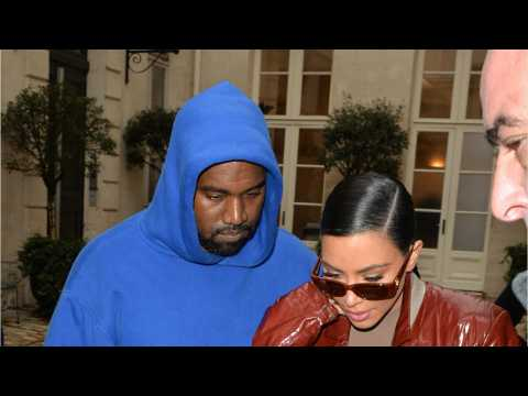 Kim & Kanye Discussing Divorce
