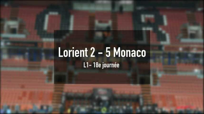 Thumbnail Lorient chute lourdement face à Monaco
