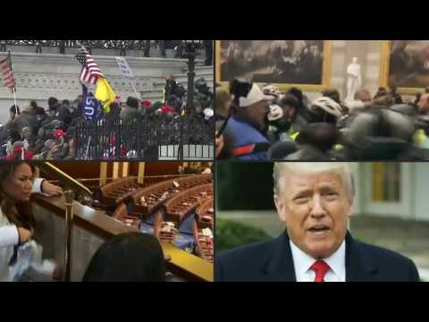 Day of chaos as pro-Trump mob besieges US Capitol