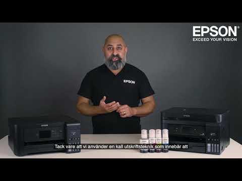 Låga utskriftskostnader och smidiga utskrifter med Epson EcoTank