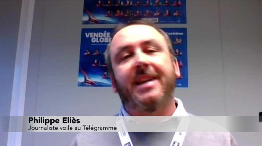 Thumbnail Vendée Globe : dernière ligne droite pour les skippers