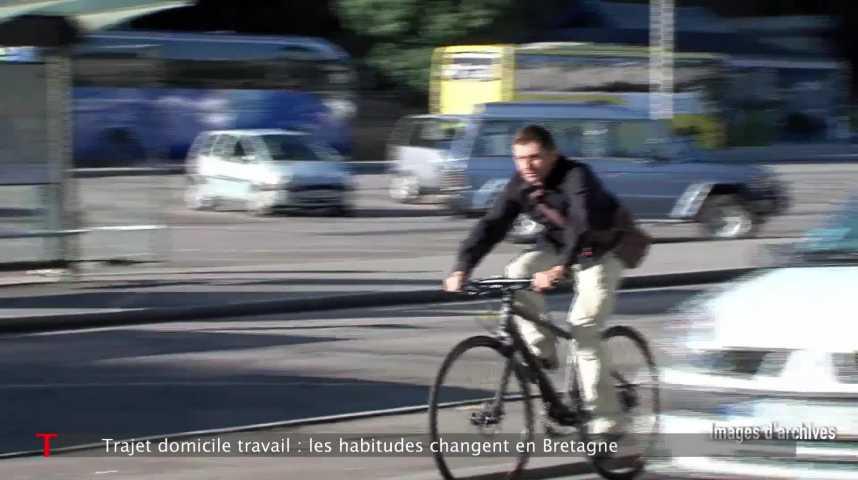 Thumbnail Les bretons champions de la voiture pour aller travailler