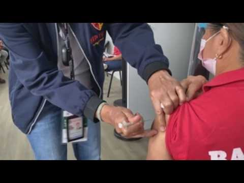 Philippines holds COVID-19 vaccination drill