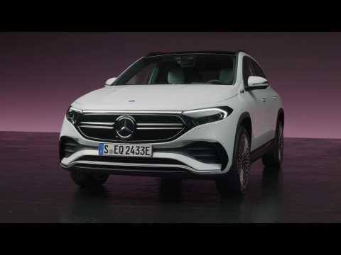 The new Mercedes EQA - Studio Design