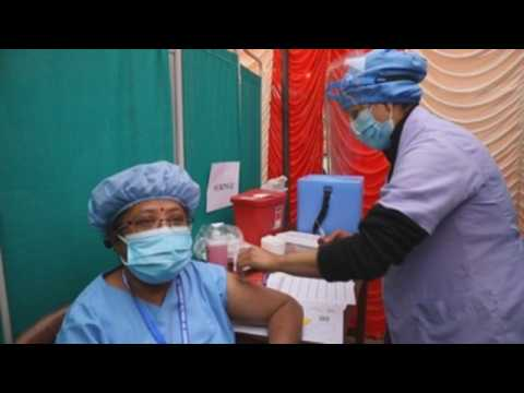 Nepal kicks off Covid-19 vaccination campaign