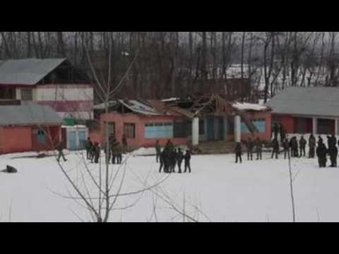 One dead, three wounded in Kashmir explosion