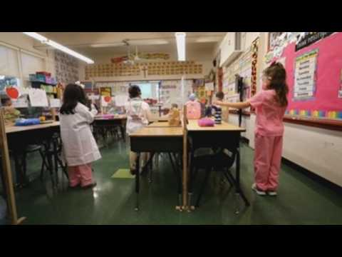 School reopens for first time amid pandemic