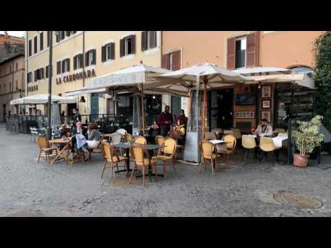 Restaurants and museums reopen in Italy as country eases restrictions