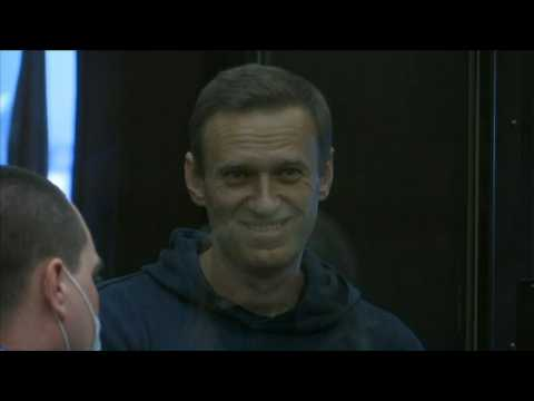 Russian opposition leader Alexei Navalny appears in court