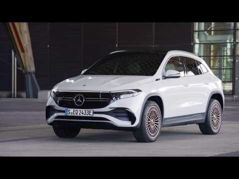 The Mercedes EQA Exterior Design