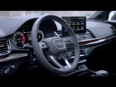 Audi SQ5 Sportback TDI quattro Interior Design Dragon orange