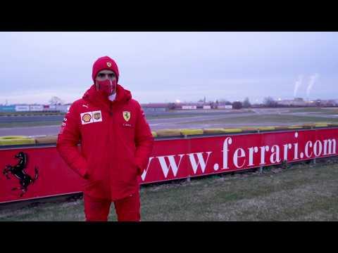Carlos Sainz starts his adventure with the Scuderia Interview