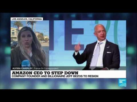 Jeff Bezos, Amazon's founder, to step down as CEO, devote more 'energy' to philanthropy