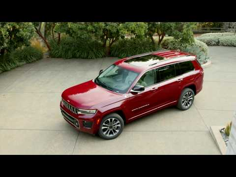 2021 Jeep Grand Cherokee L Overland Design Preview