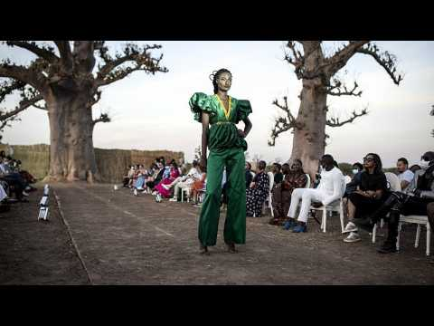 Catwalk at Dakar Fashion Week 2020 moved to baobab forest amid COVID-19 pandemic