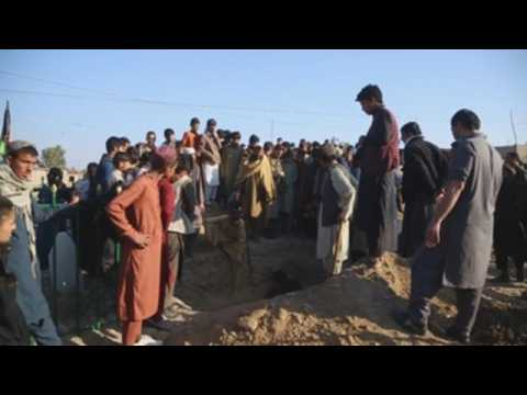 Funeral in Nangarhar of Afghan journalist shot dead