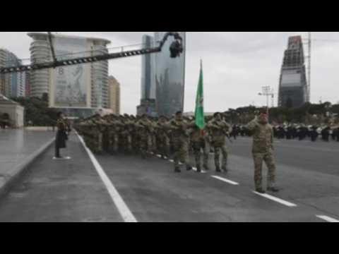 Azerbaijan holds military parade to mark Karabakh victory