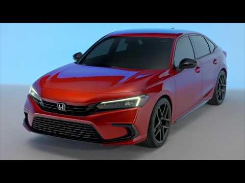 2022 Honda Civic Prototype Design Preview