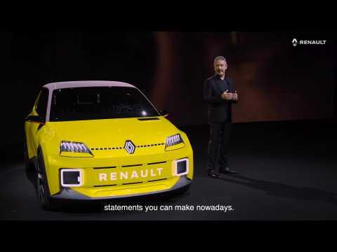 Renault 5 Prototype - Interview Gilles VIDAL, designer