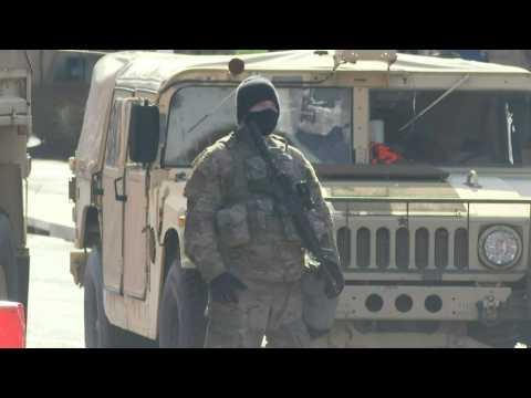 National Guard patrol Washington, DC, streets days before Biden inauguration