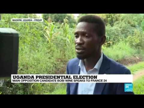 Uganda presidential election: Main opposition candidate Bobi Wine speaks to France 24