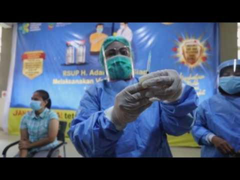 Mass COVID-19 vaccination campaign continues in Indonesia