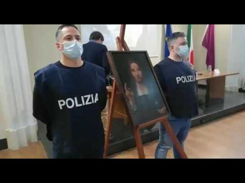 Italian police recover 500-year-old stolen copy of Leonardo da Vinci painting