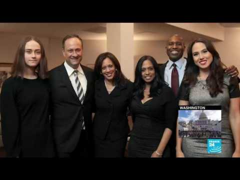 Kamala Harris makes history as first female, black, South-Asian Vice-President in US
