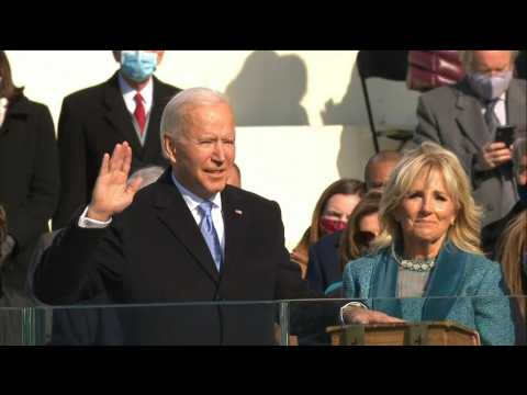 Joe Biden promises to be 'President for all Americans' as Trump era ends