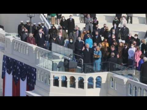Joe Biden and Kamala Harris are inaugurated in Washington