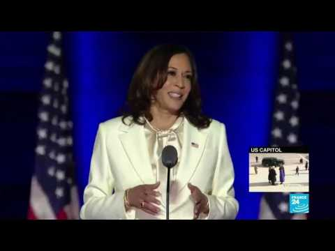 Kamala Harris breaks another glass ceiling becoming US Vice-President