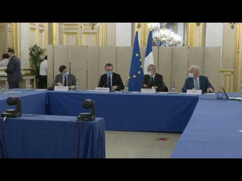 French ministers hold Brexit meeting with trade federations