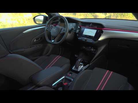 The new Opel Corsa Interior Design in Red