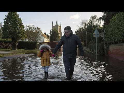Flooding in England as Storm Bella approaches