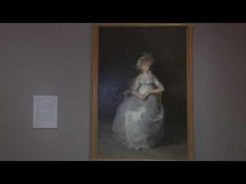 Madrid's Prado museum presents restoration of 'The Countess of Chinchón'