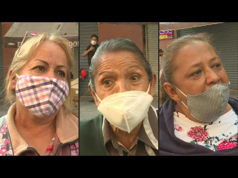 Mexico City street vendors fear they won't make ends meet over Christmas
