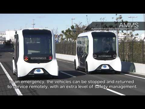 The new Toyota e-Palette Task Assignment and Autonomous Mobility