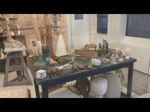 """Giacometti Foundation in Paris opens the exhibition """"Giacometti / Beckett"""" with the museum closed"""