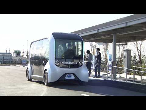 The new Toyota e-Palette Autonomous Mobility