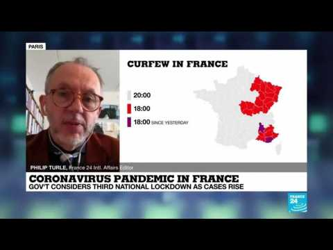 France likely to  have to take tougher measures due to virus variants