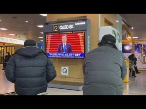South Korean President delivers New Year's address, emphasizes cooperation with North Korea
