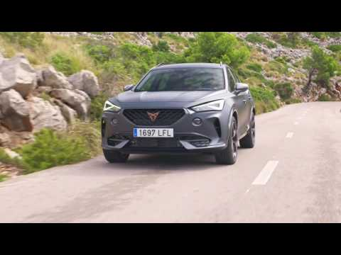 The new CUPRA Formentor in Magnetic Tech Driving Video