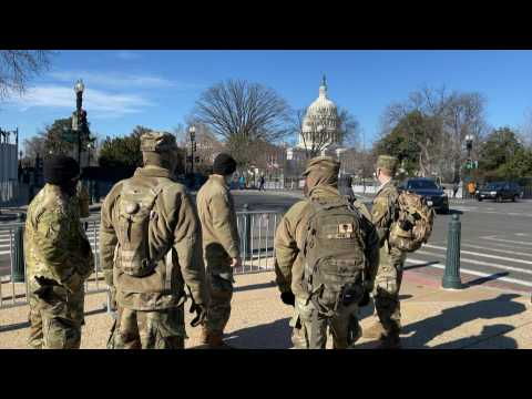 US National Guard bolsters security around Capitol